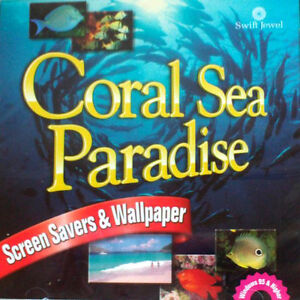 CD Coral Sea Paradise Screen Savers & Wallpaper:Sound EffectsNEW