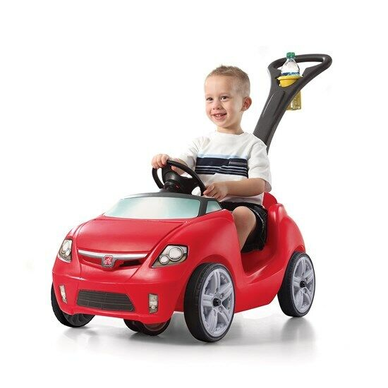 Step2 Easy Steer Sportster Red  - Kids Push Car - BRAND NEW - Red