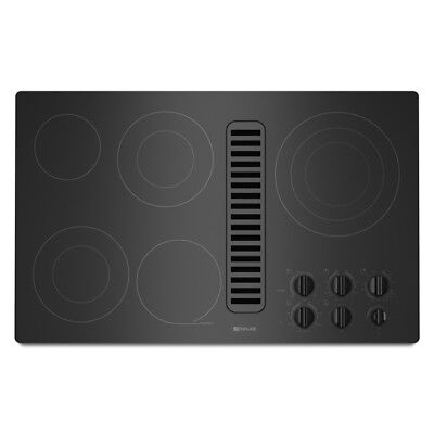 "NEW IN BOX CLOSEOUT! Jenn-Air 36"" Electric Downdraft Cooktop JED3536WB"