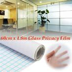 60cm 1.8M Frosted Window Tint Glass Privacy PVC Film For ...