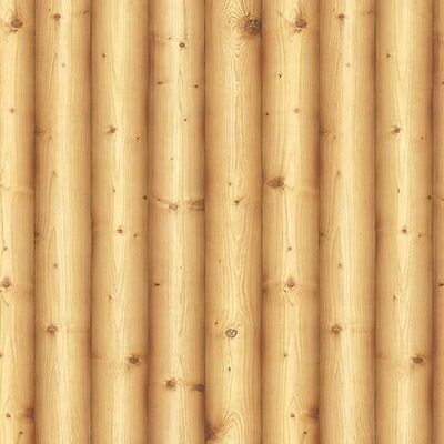 (Contact Paper Wood Log Effect Self Adhesive WallpaperVinyl Roll Cabin Home Depot)