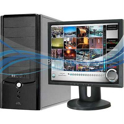 Pc Based Dvr System (EYEMAX PC Based 9240 CCTV DVR System 16CH 120FPS 1TB Tower Case )