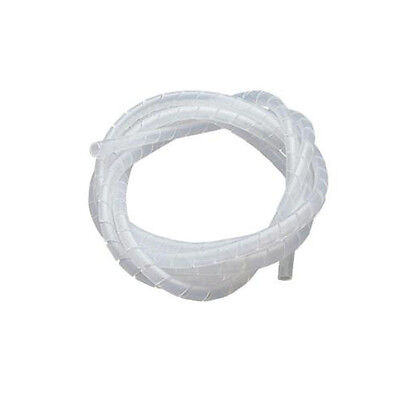 Eagle 6ft 1/2 Inch Spiral Loom Cable Wrap Wire Organizer Multiple Cord Strapping for sale  Shipping to India