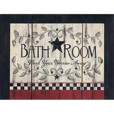 Art Print, Framed or Plaque by Linda Spivey - Bath Room - (Linda Spivey Bath)