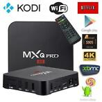 Android 7.1 tv box mxq pro 4k kodi 17.4 mediaspeler wifi