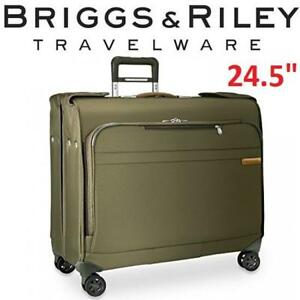 "NEW BRIGGS  RILEY WARDROBE SPINNER U177SP-7 216076016 13.5""x24.5""x22.5"" BASELINE OLIVE ONE SIZE"
