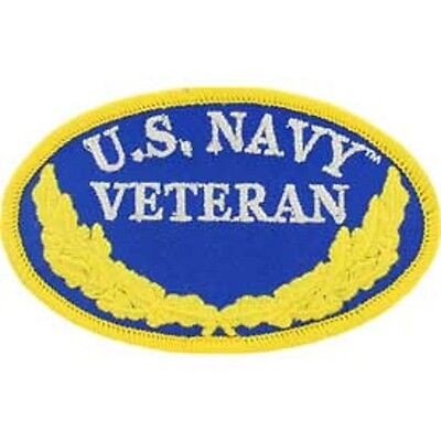 U.S. NAVY VETERAN EMBROIDERED PATCH - NEW - MUST SEE