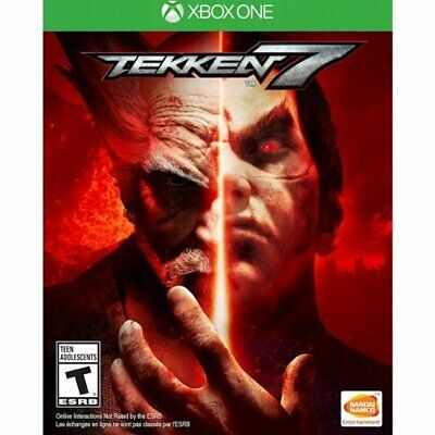 Tekken 7 Xbox One XB1- Brand New Factory Sealed- Free Shipping!