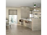 Striped Natural Stone Colored Tiles (20cmx50cm)