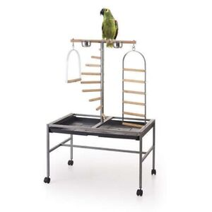 Parrot play area & stand $65.00