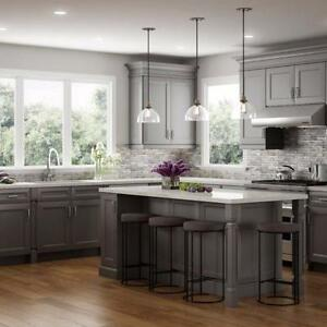 END OF SUMMER SALE! SOLID WOOD KITCHEN CABINETS AT UNBEATABLE PRICE! DON'T PAY ANYTHING FOR 1 YEAR INTEREST FREE!