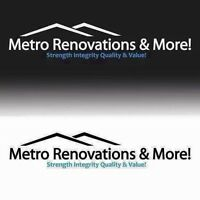 Metro renovations no money down till job done
