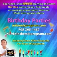 Kids birthday parties - we bring the dance party to YOU!