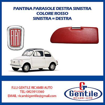 SX CERNIERE COPPIA PANTINE ALETTE PARASOLE FIAT 500 F L R GIARDINIERA DX