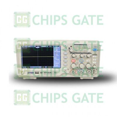 1pcs Atten Ads1102cml 100mhz Digital Oscilloscope Scope 7lcd Dso Memory Upto