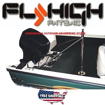 FLY HIGH W412 PRO SKI WATERSKI WAKEBOARD STAINLESS STEEL BOAT PYLON SHIPS FREE!