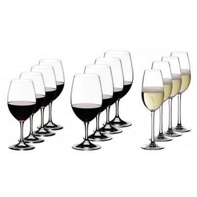 Riedel Ouverture Vorteilsset 4 Weißwein- 4 Rotwein- und 4 Champagnergläser
