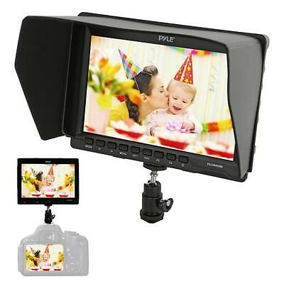 "7"" Camera/Video Field Monitor Full HD 1080P 1280 x 800 Pixels HDMI PLCMHD80"