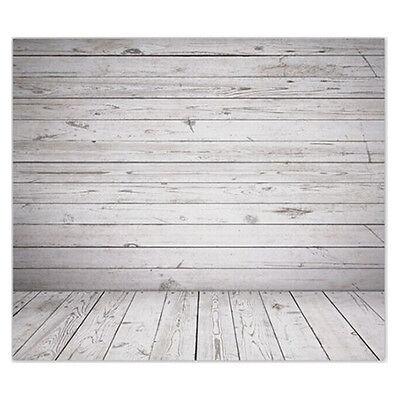 5X7ft Vinyl Photography Backdrops Backgrounds Wooden Floor Wedding Studio ED