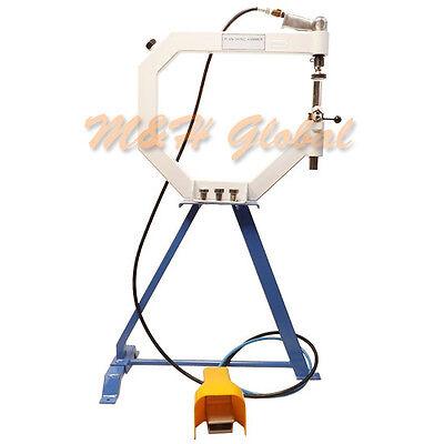 Planishing Hammer Air Pneumatic English Wheel Metal Fabrication 1 2 3 Anvil