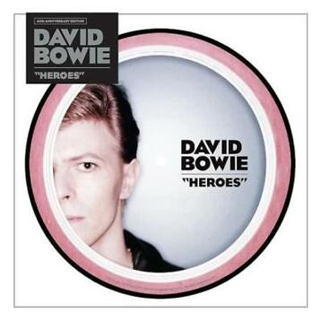 "Heroes (40th anniversary 7"" picture disc) - Vinyl"