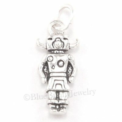 3D KACHINA Buffalo Bison Native American Indian Charm Pendant STERLING SILVER