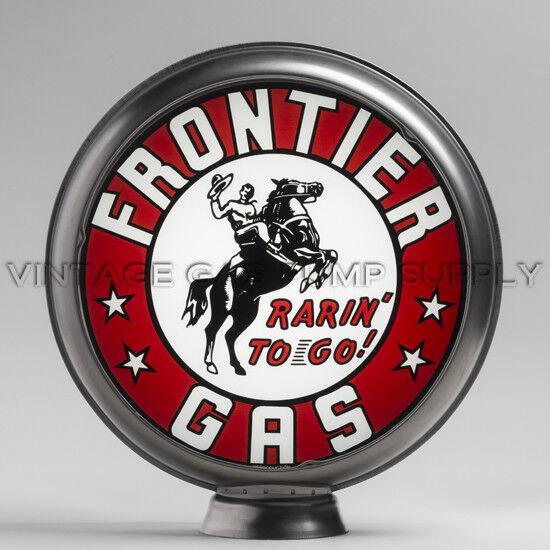 """Frontier Gas 13.5"""" Gas Pump Globe w/ Steel Body (G133)"""