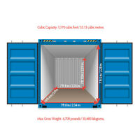Good Cheap Shipping Containers 20 and 40 Feet for Storage