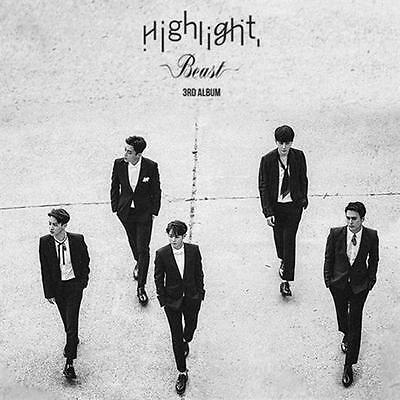 BEAST 3RD ALBUM [ HIGHLIGHT ] CD+BOOKMARK+PHOTO CARD KPOP ()