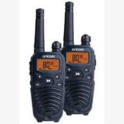 Oricom 2 watt Handheld UHF pair UHFAP2190 with carry case Wangara Wanneroo Area Preview