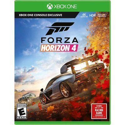 Forza Horizon 4 (Microsoft Xbox One XB1) Brand New Factory Sealed
