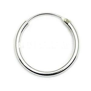 mens sterling silver hoop earrings mens small 925 sterling silver hinged ear hoop sleeper 9262
