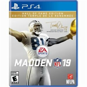 Madden 19 Hall of Fame Edition PS4