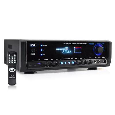 New PT390BTU Bluetooth Digital Home Theater MP3/USB/SD Stereo Receiver 300 Watt