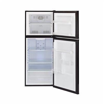 Frost Fridge Freezer - HAIER Frost Free 9-10 Cub' Refrigerator & Top Freezer BLACK. SEE DESCRIPTION
