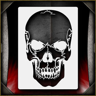 """Skull 25"" Airbrush Stencil Template Airsick"