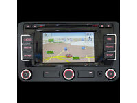 Genuine VW RNS 315 SatNav headunit with DAB radio and built in Bluetooth
