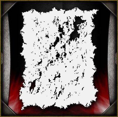 """Grunge 1"" Airbrush Stencil Template Airsick"