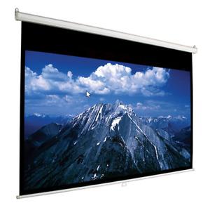 Toile AccuScreens de 100'' manuelle pour projecteur