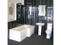 PVC Panels Cladding for Bathroom or Kitchen Ceiling or Walls 2700mm x 250mm