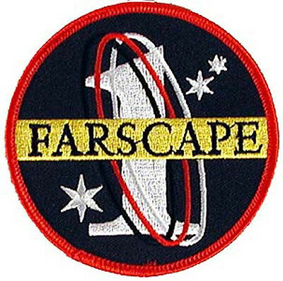 "Farscape TV Series Farscape 1  Logo Embroidered 3.5""  Patch (FSPA-001)"