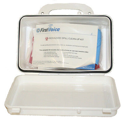 - Basic Hard Case BioHazard Spill Clean Up BBP Kit - First Voice