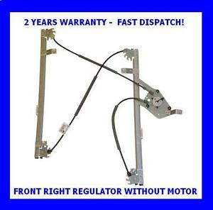 CITROEN PICASSO 1999-2006 FRONT RIGHT DRIVER SIDE NEW LIFTER  WINDOW REGULATOR