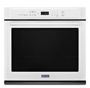 MAYTAG  4.3 CU. FT. WALL OVEN MEW9527FW (BD-2066)