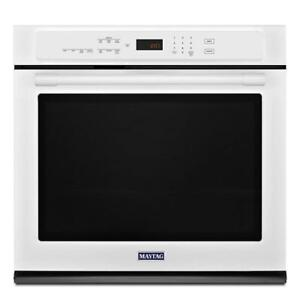 MAYTAG MEW9527FW 27-INCH WIDE 4.3 CU. FT. WALL OVEN (BD-2065)