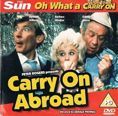 Carry on Abroad (1972) -  Sidney James, Kenneth Williams  -  DVD N/Paper