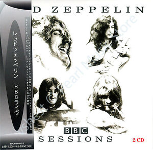 LED-ZEPPELIN-BBC-SESSIONS-2-CD-MINI-LP-OBI-Jimmy-Page-Robert-Plant-John-Bonham