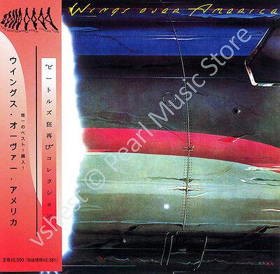 PAUL MCCARTNEY & WINGS WINGS OVER AMERICA 2 CD MINI LP OBI Beatles Linda Seiwell - Halloween Usa Promo