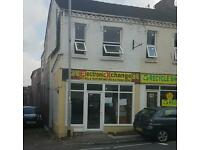 Shop to let. Tunstall. Stoke-on-Trent. St6 6an