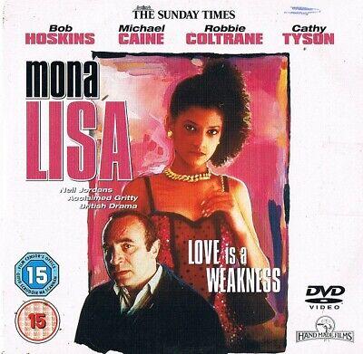 Mona Lisa (1986) -  Bob Hoskins, Cathy Tyson, Michael Caine-  DVD N/Paper